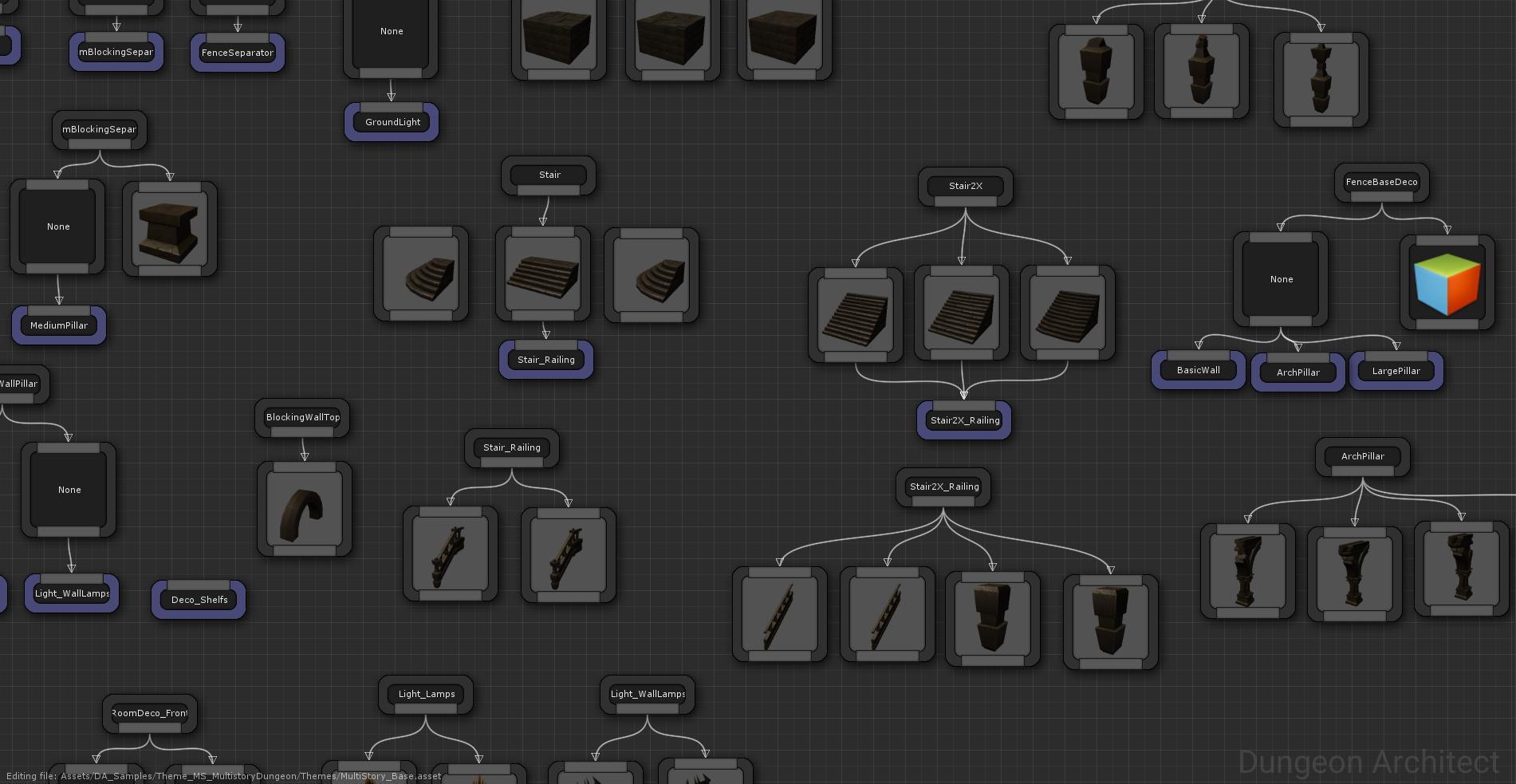 Dungeon Architect Quick Start Demos